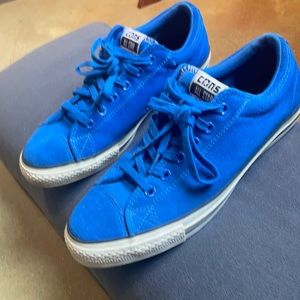 BLUE SUEDE Converse ALL STAR Chuck Taylor 10 1/2